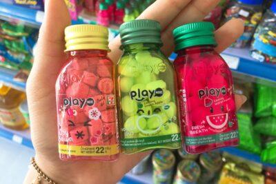 Hương vị kẹo Play More nào ngon: xoài, táo xanh, dưa hấu, xí muội