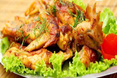 6 cách nướng gà bằng nồi cơm điện thơm ngon dinh dưỡng không bị cháy
