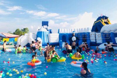 Review Water Fun Hà Đông có gì hay: Địa chỉ, Giá vé, Các trò chơi