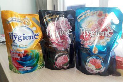 Review nước xả vải Hygiene Thái Lan mùi nào thơm, giá bao nhiêu