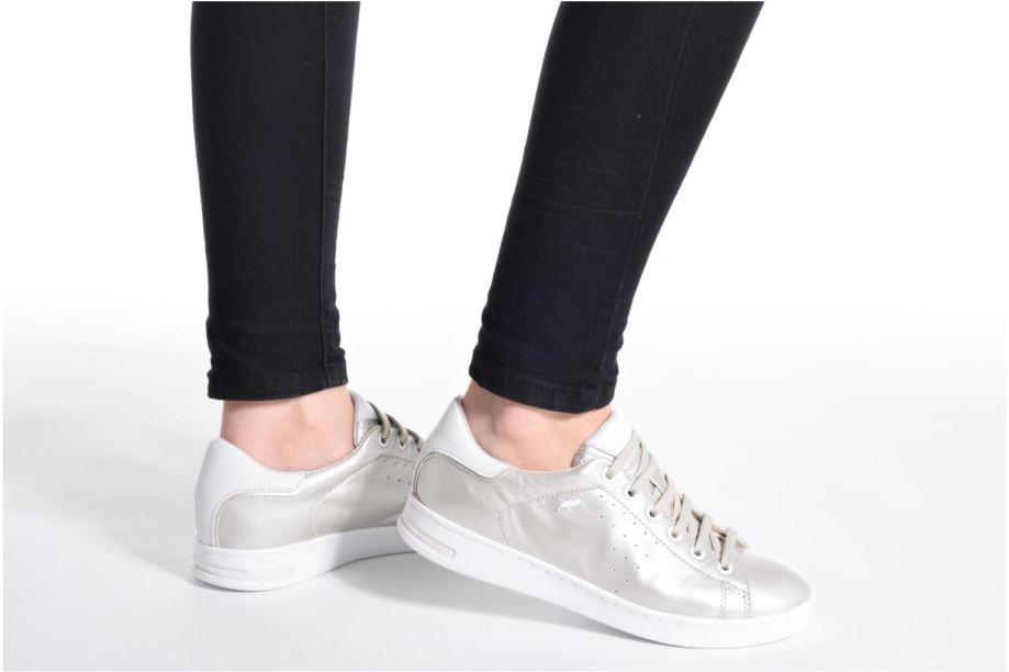 Giày Sneaker nữ Geox D Jaysen A màu bạch kim
