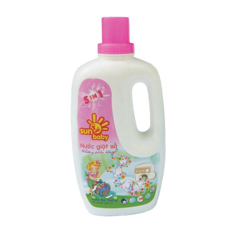 Nước giặt có độ pH trung tính và tốt cho da trẻ