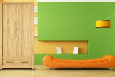 25 mẫu tủ quần áo gỗ sồi tự nhiên đẹp đa dạng kích thước giá từ 6tr