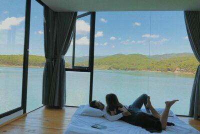 14 homestay hồ Tuyền Lâm tiện nghi nghỉ dưỡng cuối tuần giá từ 300k