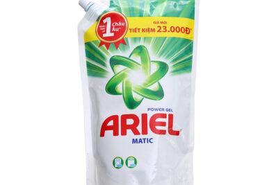 Đánh giá nước giặt Ariel Matic giữ màu túi 3.25kg sạch quần áo không
