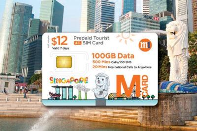Sim du lịch Singapore nào tốt nhất: Xplori, Singtel, StarHub, M1