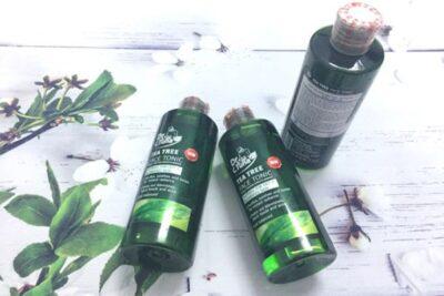 Review set sản phẩm Tea Tree Farmasi dành riêng cho da mụn, da dầu