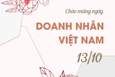 24 mẫu thiệp chúc mừng ngày doanh nhân Việt Nam đẹp nhất dễ làm