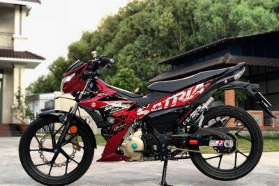 Review xe côn tay Suzuki Satria F150 nhập khẩu có tốt không, giá bán