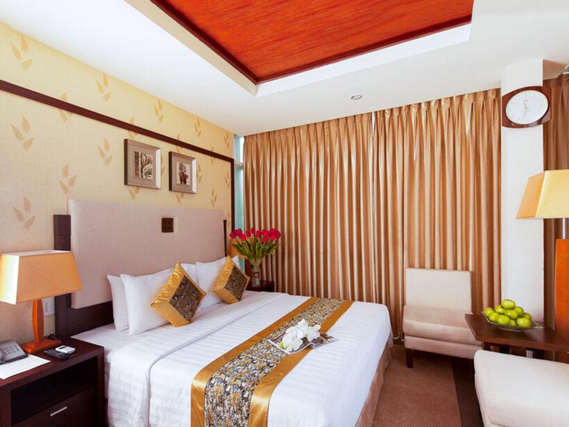 Seaside resort Vũng Tàu có 4 loại phòng, tương ứng diện tích, view và mức giá khác nhau