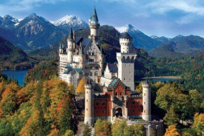 Review lâu đài Neuschwanstein ở Đức có gì: Kiến trúc, Ý nghĩa lịch sử