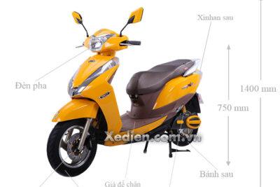 Đánh giá xe máy điện Honda Tonly Sport có tốt không, giá bán, màu sắc