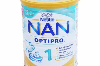 7 dòng sữa Nan nhập khẩu từ Châu Âu ngon bổ phù hợp với trẻ Việt