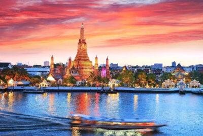 Hướng dẫn cách đi thuyền trên sông Chao Phraya tham quan cảnh đẹp