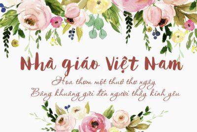 Ngày nhà giáo Việt Nam 20/11: Nguồn gốc, Ý nghĩa, Lịch sử thành lập
