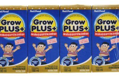 Review sữa bột pha sẵn Nutifood có tốt không, công dụng, giá bán