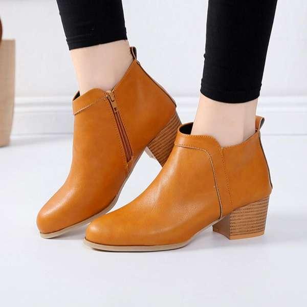 Chelsea boots gót thấp