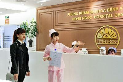 Hướng dẫn quy trình khám tại Hồng Ngọc: Thủ tục, Giờ hoạt động