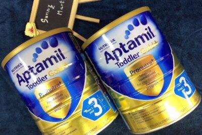 Sữa Aptamil Gold Úc có tốt không: Bao nhiêu loại, Mức giá, Ưu điểm