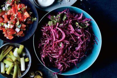 11 cách làm salad bắp cải tím chay mặn giảm cân lạ miệng ăn là ghiền